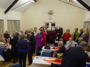 A Social event in March 2013 at Lowsonford Village Hall